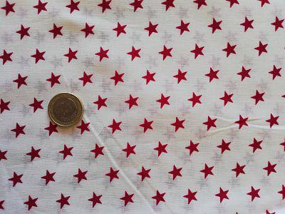 Telas-Estrellas Rojas - Kitachi