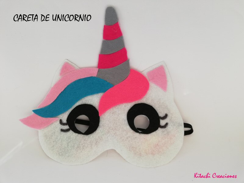 Careta de unicornio