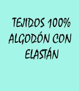 TELAS ALGODÓN ELÁSTICO